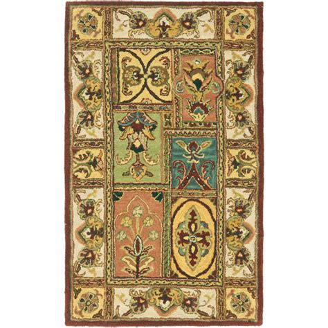3 ft rug safavieh classic assorted 3 ft x 5 ft area rug cl386a 3