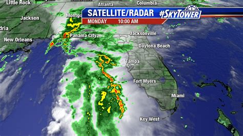 satellite weather map florida invest 99l drenches parts of florida alabama tropical