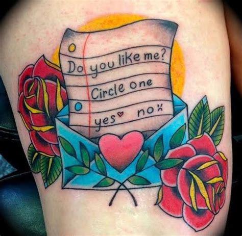 love letter tattoo alfano artist skull tattoos tattoos