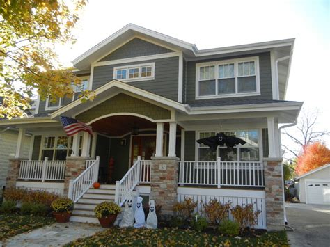 Red And White Kitchens Ideas james hardie siding arlington heights il traditional