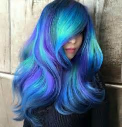 blue hair color 25 best ideas about bright hair colors on