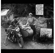 Antique Motorcycles With Women Riders  LightningCustomscom Blog