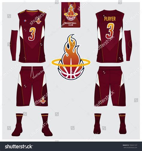 new jersey design university basketball jersey shorts socks template basketball stock