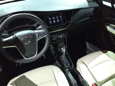 2017 buick encore interior first look 2017 buick encore thedetroitbureau com