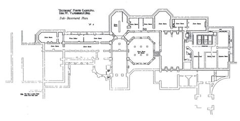 biltmore house floor plan plan for the sub basement floor of biltmore house floor