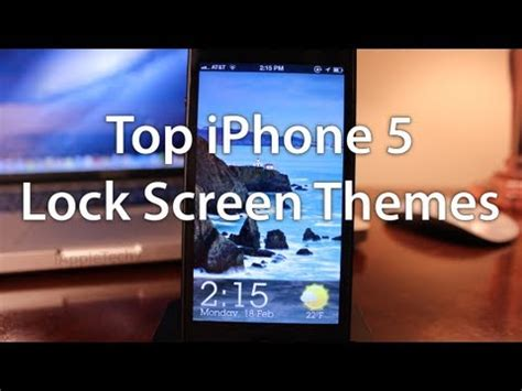 lock best themes top iphone 5 free lock screen themes 2013 cydia