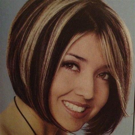 edgy highlights for brown hair chunky blonde highlights eav edgy eavig hair haircut