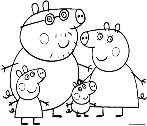 free coloring page peppa pig free coloring pages of peppa peppa pig
