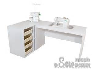 corner sewing machine table sewing cabinet corner unit overlocker storage box for