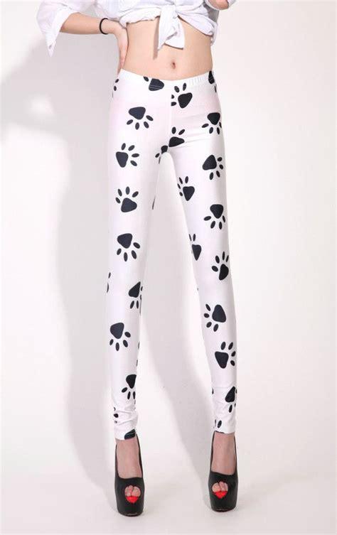 dog pattern tights dog s paw print leggings under the blanket pinterest