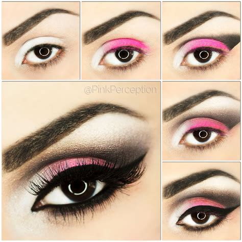 10 Steps For Makeup Look by Pink Smokey Eye Makeup Tutorial Step By Step