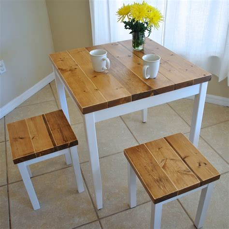 Small Farmhouse Kitchen Table Farmhouse Breakfast Table Or Dining Table Set With Or Without