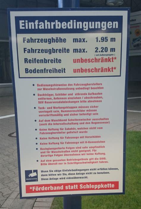 Autoinnenreinigung Oberursel by Sammlung Empfohlener Waschanlagen Waschstra 223 En Seite 2