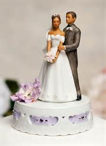 Home wedding cake toppers traditional bride and groom elegant african
