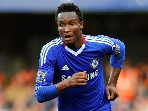 mikel obi scores quot own goal quot fathers two from 2