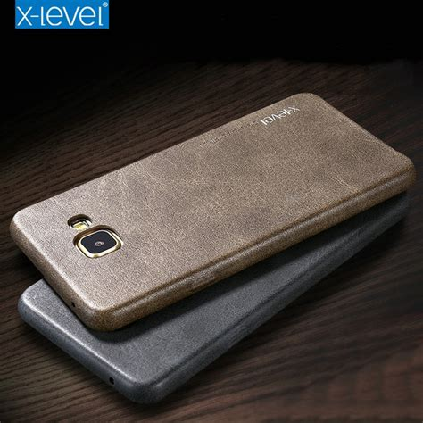 X Level Vintage Leather Slim Hardcase Back Samsung Note 8 aliexpress buy x level for samsung galaxy a5 2017 retro luxury pu leather back cover