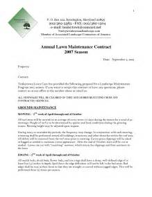 lawn care bid proposal sample lawn xcyyxh com