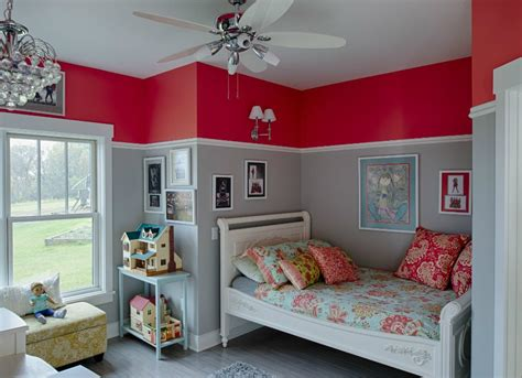 red bedroom ideas kids room paint ideas  bright choices bob vila