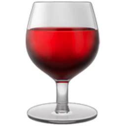 wine emoji wine glass emoji u 1f377
