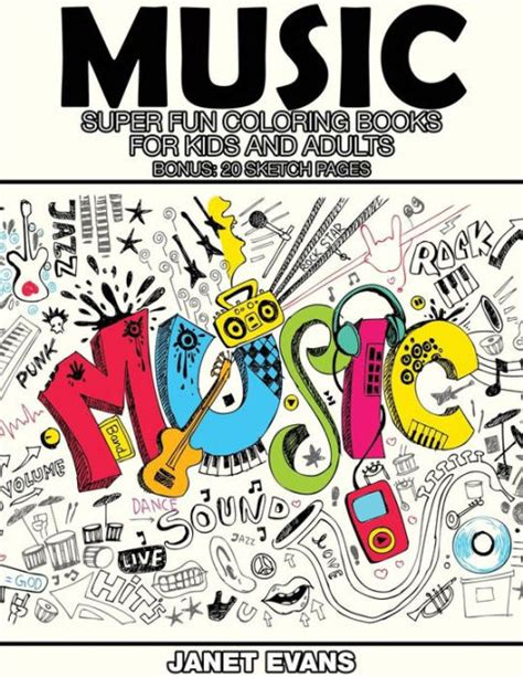 Musical Book Covers by Coloring Books For And Adults Bonus