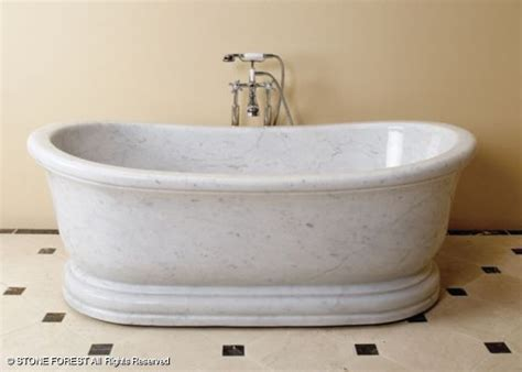 bathtub marble stone forest old world bathtub