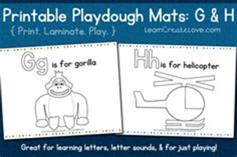 playdough mats booklet entire booklet printable letter gg on pinterest letter g worksheets and garbage