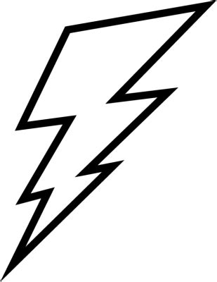 lightning bolt clip art cliparts co