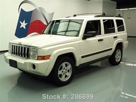 Jeep Commander Roof Rack Find Used 2006 Jeep Commander 7pass Nav Roof Rack Park