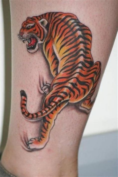 tiger thigh tattoos tiger designs and styles for and tiger