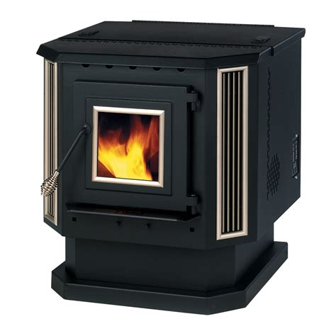Summers Plumbing Heating And Cooling Reviews by Shop Summers Heat 2 200 Sq Ft Pellet Stove At Lowes