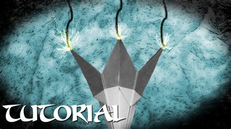 Origami Wolf Tutorial - origami wolf claws tutorial