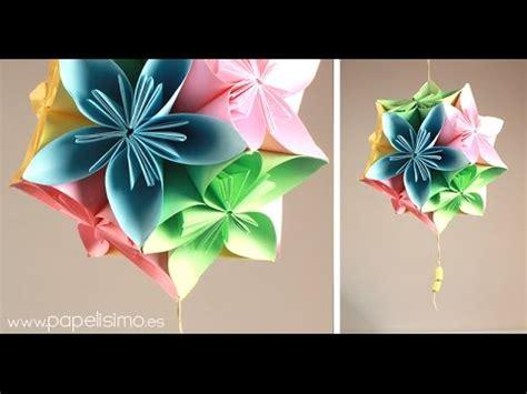 como hacer un arreglo de esferas de flores esferas de flores de papel youtube
