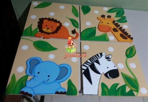 cuadros infantiles animales cuadros de animales de la selva cuadros infantiles