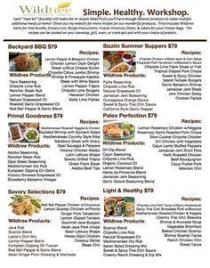 backyard bbq workshop bundle list recipes wildtree