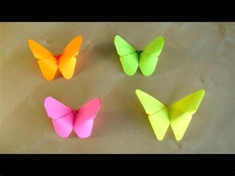 schmetterling falten basteln origami schmetterling falten mit papier