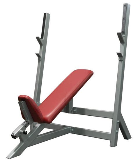 olympic incline bench press olympic incline bench press bomb proof bp 2