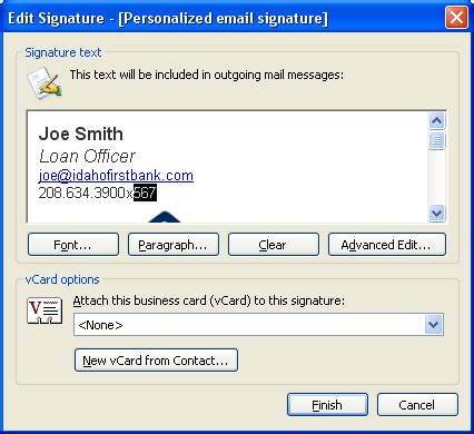 Download Free How To Create A Signature Template For Outlook 2003 Filecloudsrus Microsoft Outlook Signature Templates