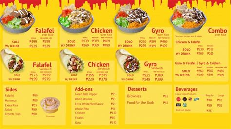 hot chick pala menu 3 reasons why the halal guys philippines killed my buzz