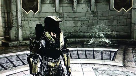 halo armor mod skyrim skyrim mods xbox 360 halo 4 master chief armor youtube