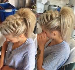 braids hairstyles pictures ponytail 10 super trendy easy hairstyles for school popular haircuts