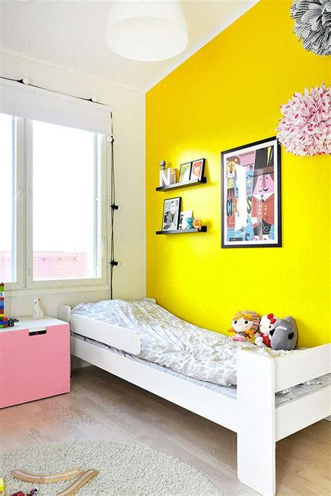 yellow accent wall bright yellow accent wall lucky 10 13 pinterest