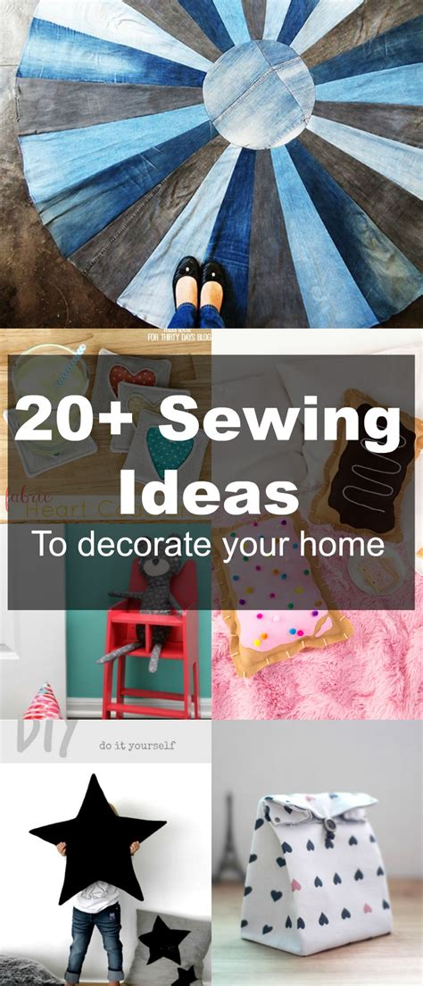 free sewing patterns 20 home decor ideas to sew on the