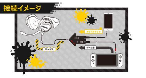Nintendo Hori Switch Splatoon 2 Splat Chat Headset nintendo switch headset chat looks like a mess polygon