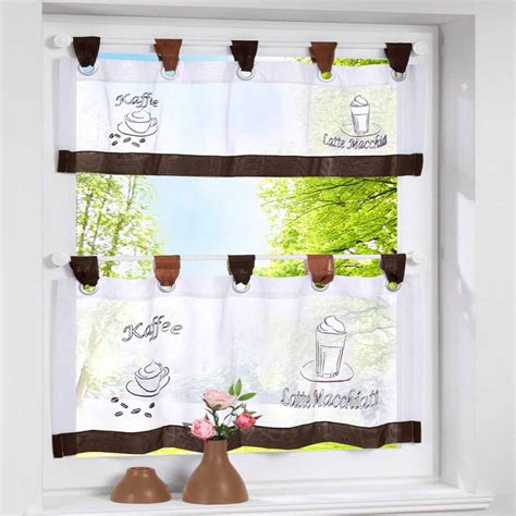 coffee print kitchen curtains blinds promotion shop for promotional blinds