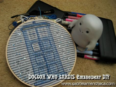 doctor who diy projects doctor who tardis embroidery diy 183 how to make an