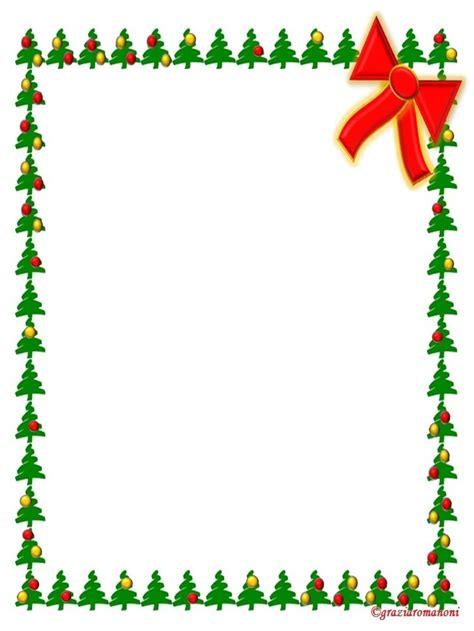 cornici natalizie per word cornicetta di natale mondofantastico