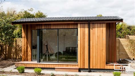 garden rooms cube pitched roof home office solutions