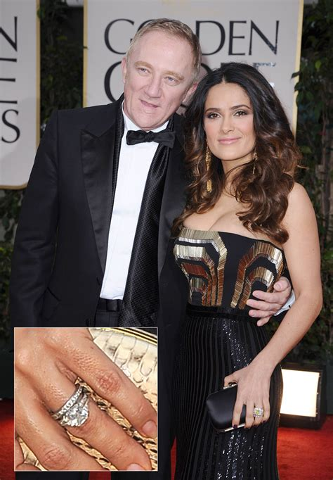 Salma Hayek Is And Engaged by Salma Hayek Engagement Ring Price