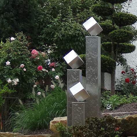 edelstahl gartenbrunnen berlin designerbrunnen als