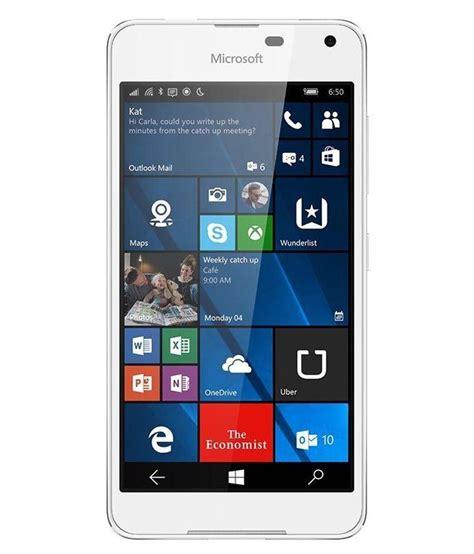microsoft dual sim lumia 650 microsoft lumia 650 dual sim 16gb silver white light